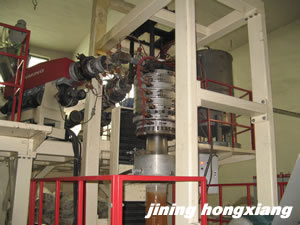 POF FILM BLOWING MACHINE