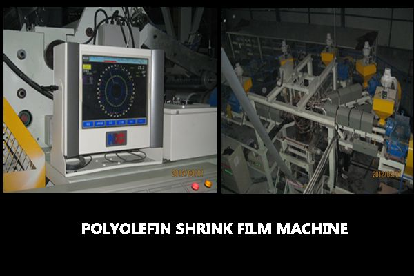 POLYOLEFIN SHRINK FILM BLOWING MACHINE